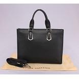 ヴィトン バッグ コピー 安い安全日本 32011 メンズ ハンドバッグ エピ・レザー ブラック