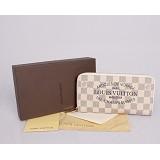 ヴィトンコピー通販代引き 男性女性 ユニセックス 長財布  ダミエ 白い N60015