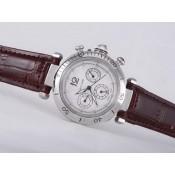 カルティエ スーパーコピー時計通販代引き パシャ   ウオッチ   カドラン    ブラック-   オートマティック