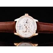 ジャガールクルト コピー 代引き ゴールド ローズ カドラン ブラン ブラン オートマティック ウオッチ レプリカ腕時計