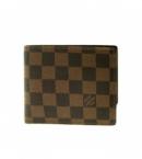 (LOUIS VUITTON) ヴィトン 財布 メンズ ブランドコピー激安 ダミエ二折りパス付き財布 ポルトフォイユフロリンN60011