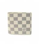(LOUIS VUITTON) ヴィトン 財布 コピー ブランド 激安 ダミエ財布アズール-メンズ二折り小銭財布 N60018
