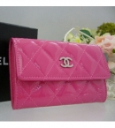 chanel コピー通販カードケース小銭入れ ピンク パテントカーフスキン A50169 中国国内販売店