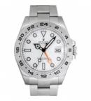 ロレックス スーパーコピー腕時計  エクスプローラーII 新型 ホワイト 216570 サイト安全