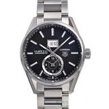 タグホイヤー偽物時計代引きカレラグランドデイトGMTWAR5010.BA0723 安全通販届く