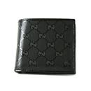 グッチ コピー財布代引き対応安全 インプリメ GG柄 二つ折財布 ブラック224122FU4HR1000