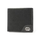 スーパーコピー ニューブリット GG柄 二つ折財布 ブラック181671FAFXN1000