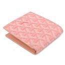 ゴヤール コピー二つ折り財布 ピンク GOYARD-120 安全代引き日本