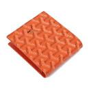 ゴヤール コピー代引き中国国内二つ折り財布 名刺入れ オレンジ GOYARD-115