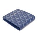 ゴヤール コピー口コミおすすめ 後払い二つ折り財布 名刺入れ ブルー GOYARD-111