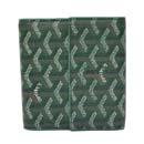ゴヤール コピー代引きおすすめ 安全サイト二つ折り財布 Wホック ブラック GOYARD-108