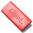 スーパーコピー クロエ財布安全サイト3p0321 7a733 539 長財布 リップスティックレッド