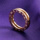 ブルガリ コピーアクセサリー ビーゼロワン ダイヤモンドリング イエローゴールド【1バンド】 AN850561