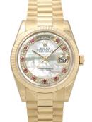 ロレックス コピー腕時計通販後払い デイデイト 118238MR 腕時計代引き対応安全