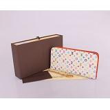 モノグラム M66567 ルイ·ヴィトン Louis Vuitton 白い 男性女性 ユニセックス 長財布