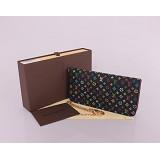 ブラック ルイ·ヴィトン Louis Vuitton モノグラム M66567 男性女性 ユニセックス 長財布
