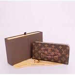 モノグラム 男性女性 ユニセックス 長財布  赤い ルイ·ヴィトン Louis Vuitton 60391