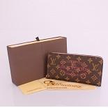 60391 ルイ·ヴィトン Louis Vuitton モノグラム 赤い 男性女性 ユニセックス 長財布