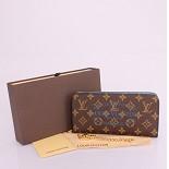 60391 男性女性 ユニセックス 長財布  ルイ·ヴィトン Louis Vuitton ブルー モノグラム