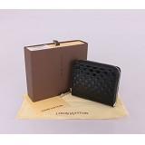 ルイ·ヴィトン Louis Vuitton 専用牛革生地 ブラック M94405 男性女性 ユニセックス 短い財布