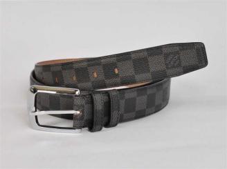 男性女性 ユニセックス ベルト N3002 ダミエ ブラック ルイ·ヴィトン Louis Vuitton