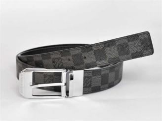 専用牛革生地 N3006 ルイ·ヴィトン Louis Vuitton ブラック 男性 ベルト
