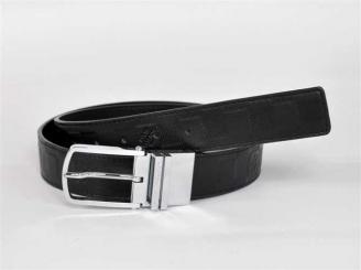 専用牛革生地 N3007 男性 ベルト ブラック ルイ·ヴィトン Louis Vuitton
