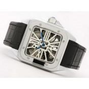 カルティエ コピーブランド時計   バロン ブルー ドゥ    ウオッチ   カドラン  ブラン    ローズ   オートマティック