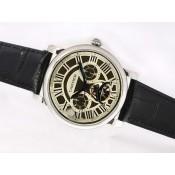 カルティエ  ブランドスーパーコピー時計通販後払い  バロン ブルー ドゥ    ウオッチ   カドラン    ブラック   オートマティック   ローズ