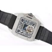 カルティエ スーパーコピーブランド時計通販後払い  バロン ブルー ドゥ   ウオッチ   カドラン    ブラック   オートマティック   ローズ