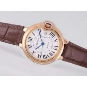 格安ばれないカルティエ 時計 コピー代引き通販口コミバロン ブルー ドゥ ウオッチカドラン  ブラン- タイユ ローズ