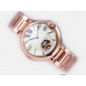 カルティエコピー腕時計 通販信用できるバロン ブルー ドゥウオッチ カドラン  ブラン ロマンティック マニュアル