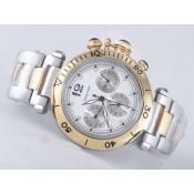 カルティエ  偽物腕時計通販後払い  パシャ   ウオッチ   ブラック-バージョン   オートマティック