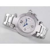 カルティエ スーパーコピーブランド腕時計代引き n級口コミ   パシャ   ウオッチ  カドラン  ブラン  オートマティック