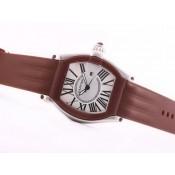 カルティエ スーパーコピー 時計  サントス   ウオッチ   カドラン     グレー   オートマティック 通販口コミ