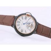 カルティエコピー時計  サントス   ウオッチ カドラン    ブラック-オートマティック 商品日本