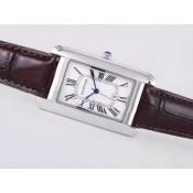 カルティエ スーパーコピー時計おすすめ 安全サイトタンク   ウオッチ   カドラン  ブランステンレススチール