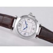 カルティエコピー腕時計 おすすめ 口コミタンク ウオッチ カドラン  ブラン  -ステンレススチール