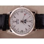ブランド腕時計コピージャガールクルト ステンレススチール 675 カドラン ブラン ムーブメント オートマティック ウオッチ