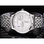 ジャガ•ールクルト コピー時計代引き対応安全 ステンレススチール カドラン ブラン オートマティック