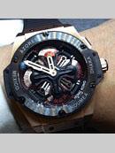 ウブロ腕時計スーパーコピー代引き届くキングパワー ウニコ GMT セラミック z771.CI.1170.RX ブラック/シルバーコピー最高品質激安販売