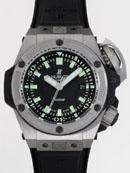 ウブロ HUBLOT キングパワー オーシャノグラフィック4000 731.NX.1190.RX ブラックラバー 世界限定1,000本 ブラックスーパーコピー腕時計
