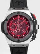 ウブロ キングパワー ポーランド 716.NM.1129.RX.EUR12 ブラックラバー 世界限定500本 ブラックスケルトンコピー時計