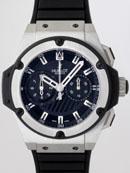 ウブロ HUBLOT キングパワー フドロワイアント ジルコニウム715.X.1127.RX ブラックラバー ブラック最高品質コピー腕時計代引き対応