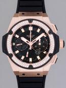 ウブロ HUBLOT キングパワー フドロワイアント 709.OX.1780.RX.1104 スピリットセコンド ブラックカーボスーパーコピーブランド腕時計
