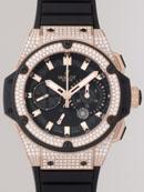 ウブロ キングパワー フドロワイアント 709.OX.1780.RX.1704 スピリットセコンド パワーリザーブ ベゼル・ラグダイヤ ブラックラバー ブラックカーボンブランドコピー腕時計
