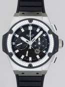 ウブロ HUBLOT キングパワー フドロワイアント ジルコニウム 709.X.1770.RX.1104 スピリットセコンドブラックカーボンコピー腕時計代引き