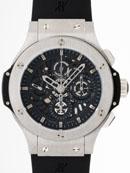 ウブロ HUBLOT アエロバン タングステン 310.KX.1140.RX 世界999本限定 ブラックラバー ブラックスケルトン腕時計偽物販売