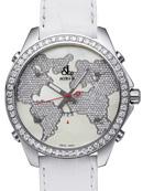 ジェイコブ コピー代引き通販口コミ 5タイムゾーン ダイアモンド コレクション ワールドマップ JC-47WW