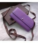 ルイヴィトンレプリカ財布2014新しいM61734紫色の水の波紋バックル